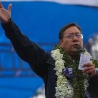 Lenín Moreno felicita a Luis Arce por su triunfo virtual en las elecciones de Bolivia