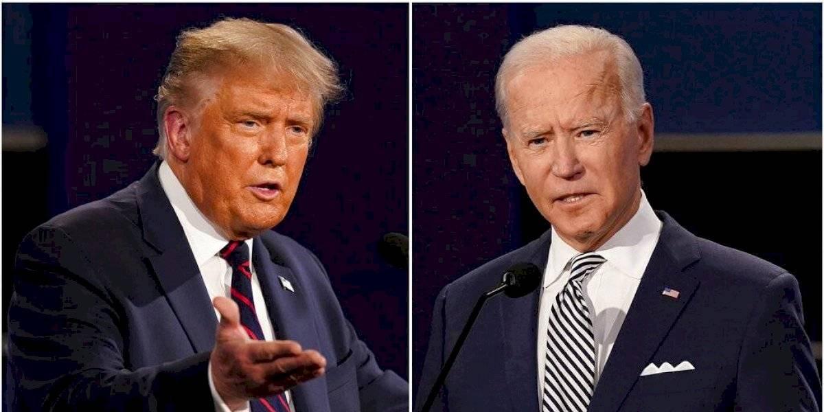 Apagarán micrófonos en próximo debate entre Trump y Biden