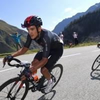 Richard Carapaz llegó segundo en la Etapa 1 de la Vuelta a España
