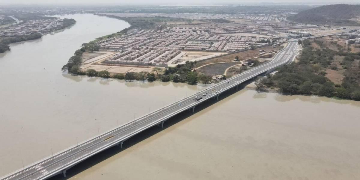 Cruzar de Guayaquil a Daule tomará 10 minutos por nuevo puente