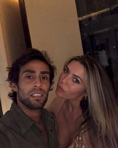 Daniela Aránguiz y Jorge Valdivia