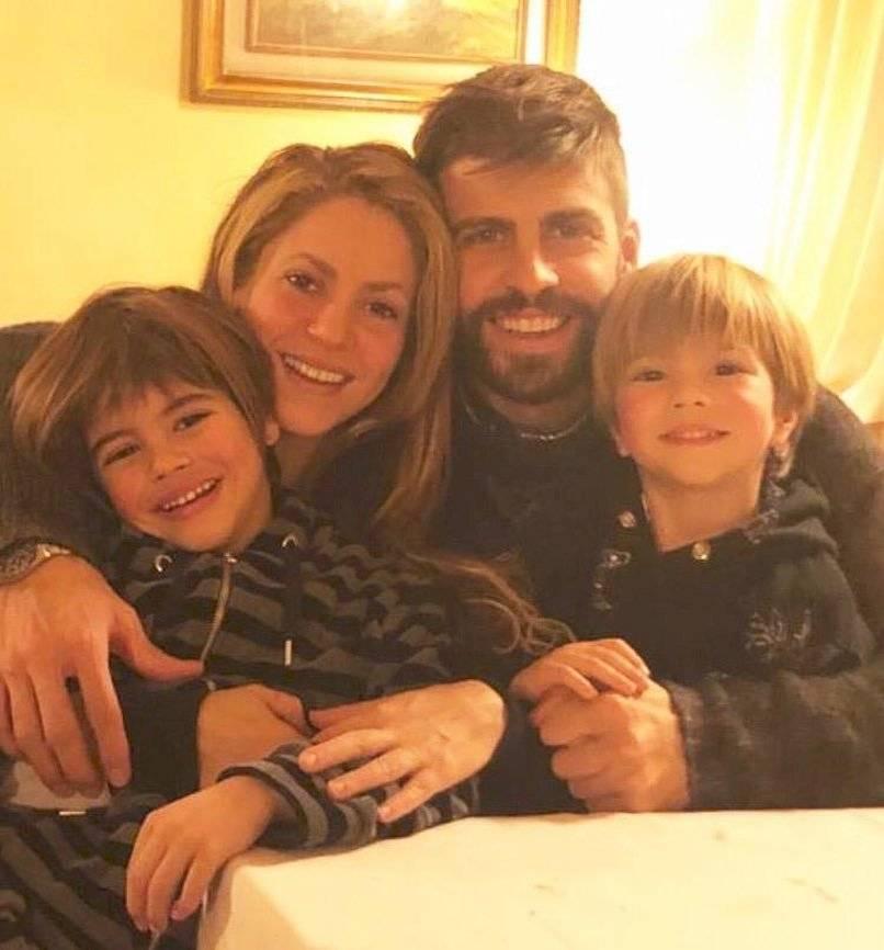 Shakira y Piqué familia