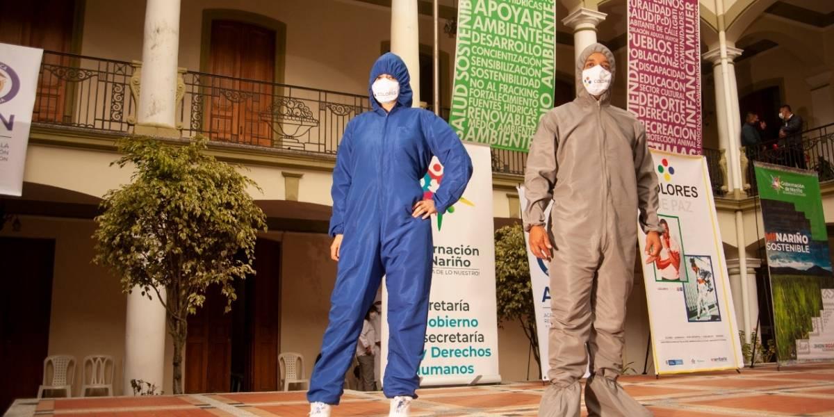 Excombatientes constituyeron la primera empresa de moda en Pasto