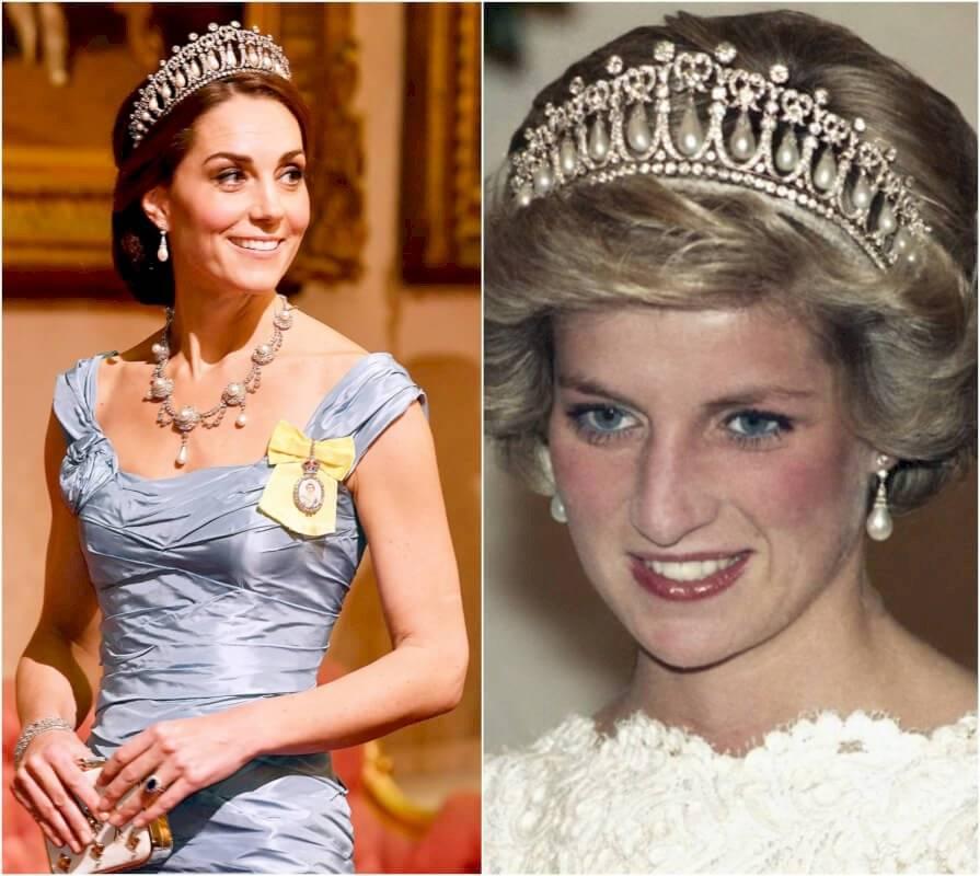 La simbólica tiara de oro y plata