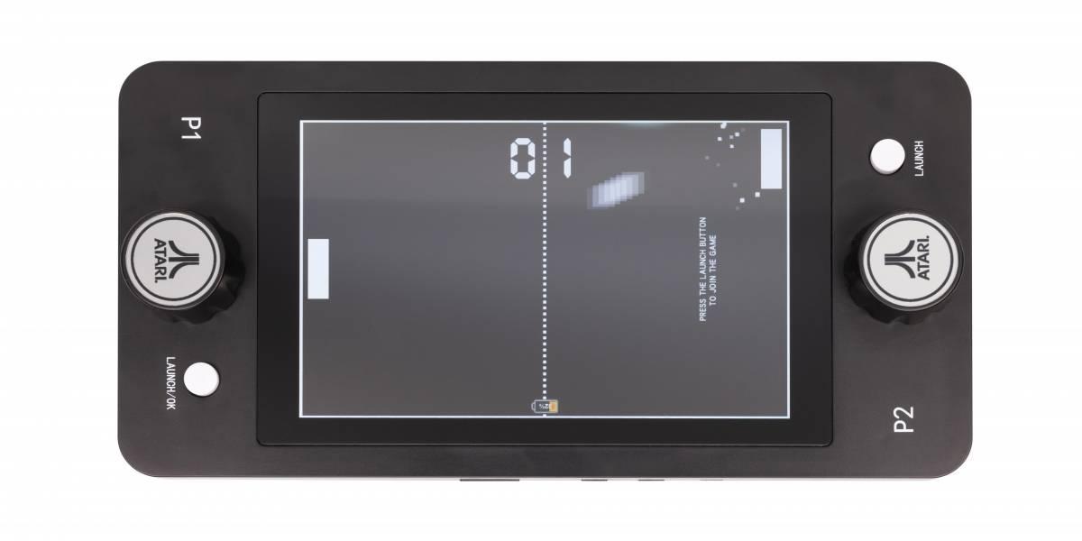 Atari lanzará consola portátil para jugar Pong