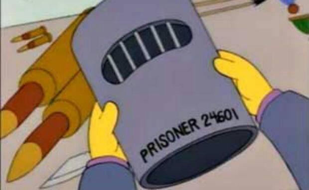 Los Simpson Les Miserables