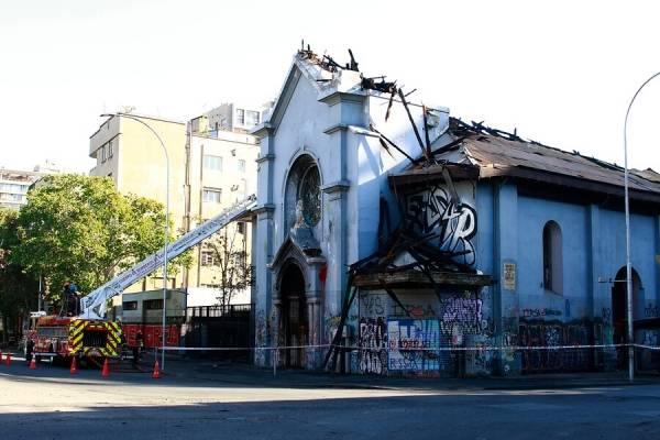 Arzobispado de Santiago desmintió que la Iglesia Asunción haya sido usada como centro de tortura