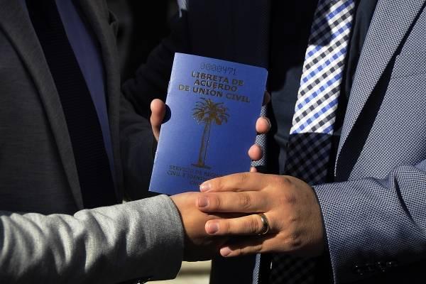 Más de 35 mil parejas han celebrado un Acuerdo de Unión Civil en los 5 años de vigencia de la ley