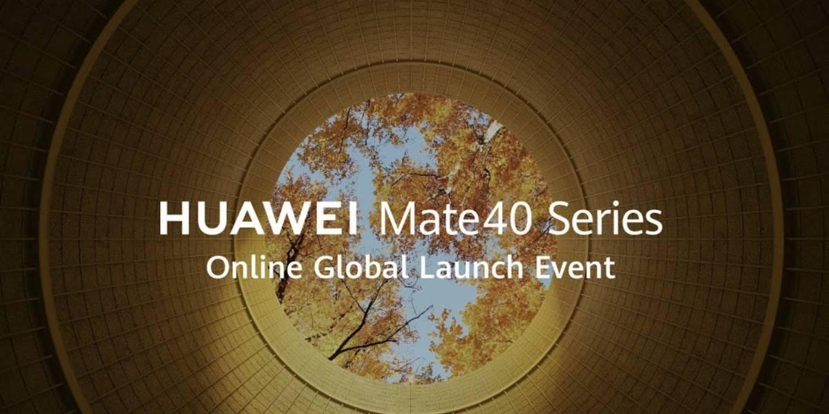 Dónde ver y a qué hora es el lanzamiento del Huawei Mate 40