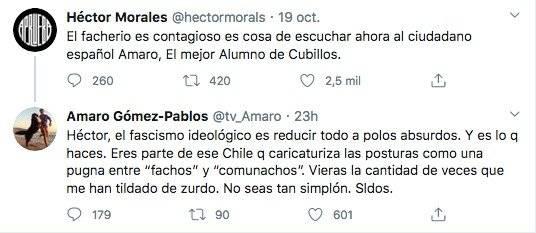 Amaro Gómez-Pablos y Héctor Morales