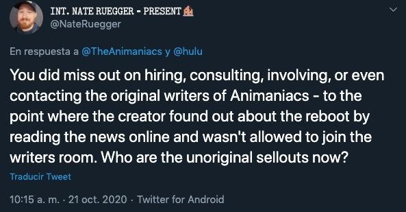 Animaniacs Tráiler Hulu