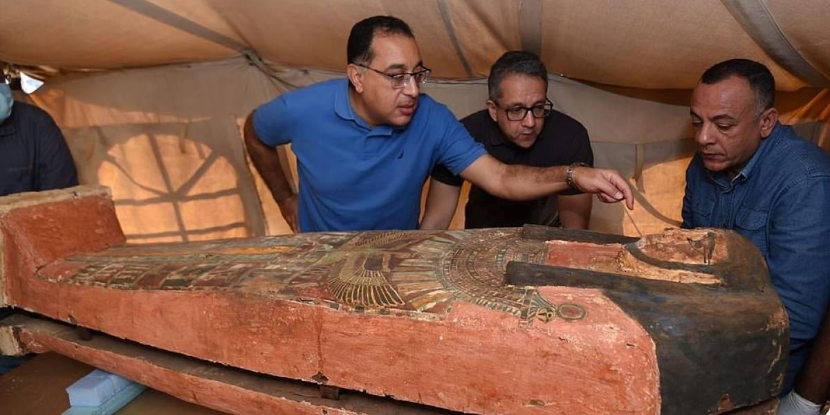 Arqueólogos siguen desenterrando sarcófagos del antiguo Egipto: hallaron 80 más