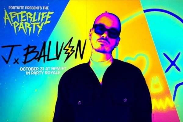 Fortnite prepara su evento de Halloween que incluirá un concierto de J Balvin donde estrenará una canción