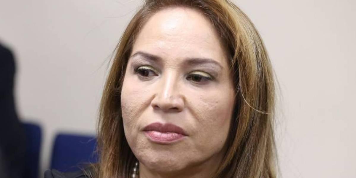 Pamela Martínez, sentenciada en el Caso Sobornos, solicita volver a prisión