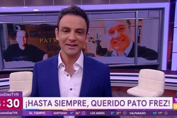 Buenos Días a Todos comienza con homenaje a Patricio Frez
