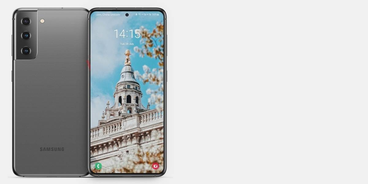 Samsung Galaxy S21 usaría dos tipos de acabados en la orilla de sus pantallas