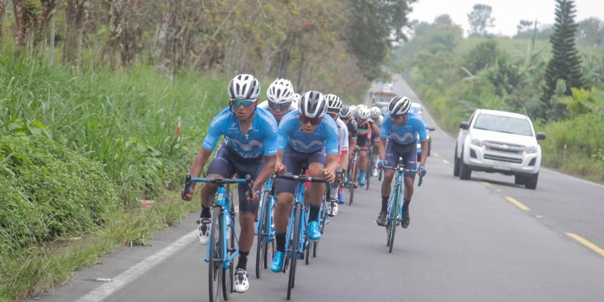 Doblete del Movistar Team Ecuador en el Tour Master 2020 en Santo Domingo