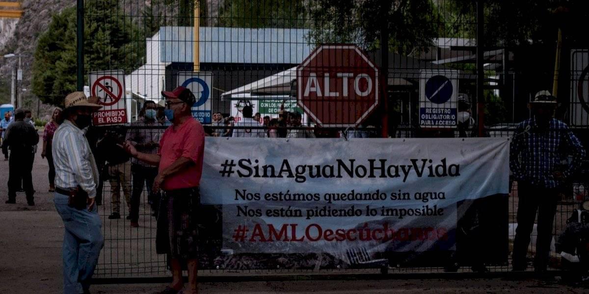 México llega a acuerdo con EU para entrega de agua