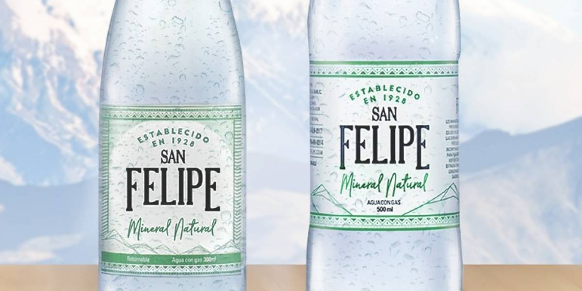 Estos son los beneficios del agua mineral San Felipe ¡Del volcán Cotopaxi a tus manos!