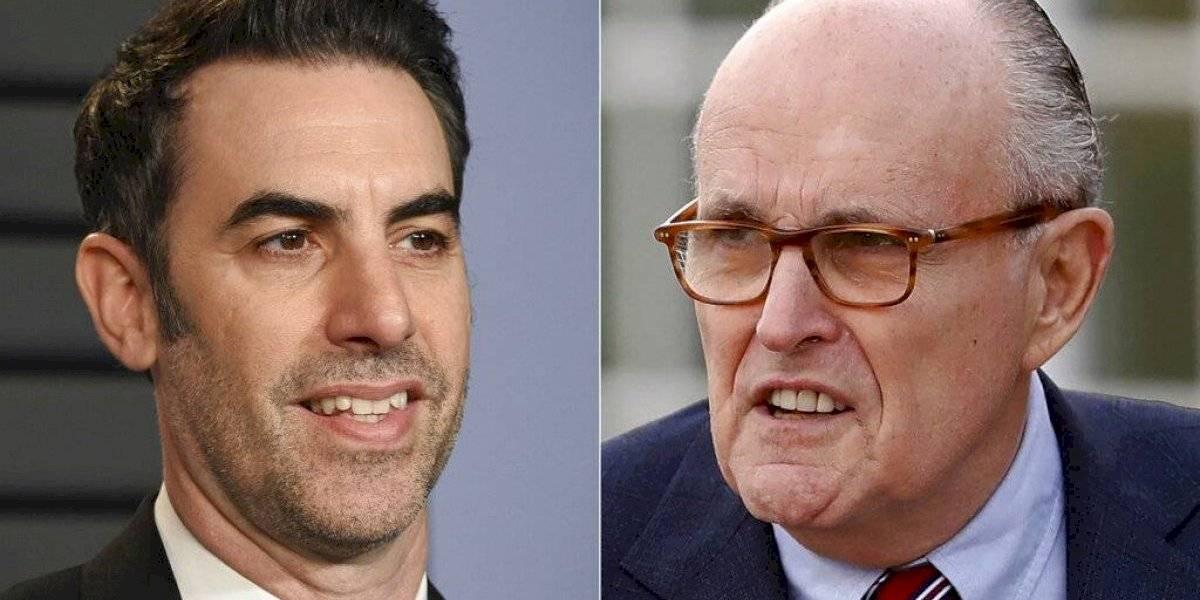 """""""Borat 2"""" muestra a Rudy Giuliani en situación vergonzosa en un hotel"""