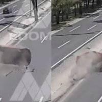 VIDEO: Cámaras del C5 captan volcadura de un vehículo en el Estado de México