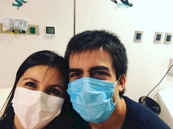 Psicóloga Pamela Lagos y su esposo