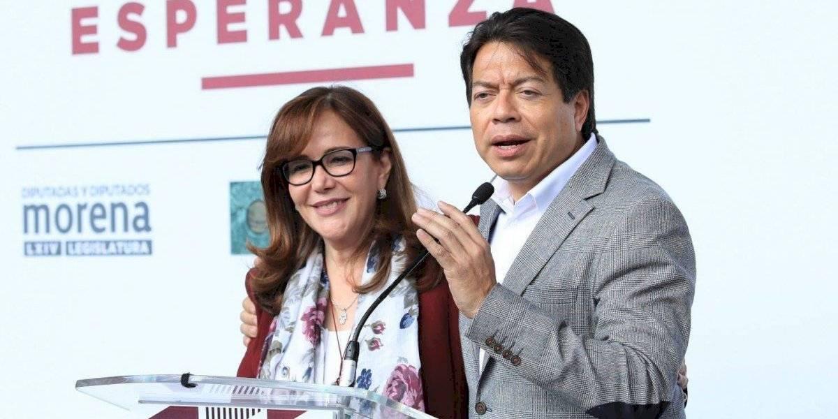Yeidckol Polevnsky apoya la candidatura de Delgado a la dirigencia de Morena
