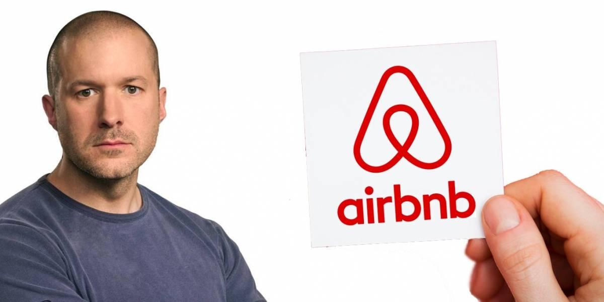 ¡Jony Ive regresa! en forma de... ¿diseñador para Airbnb?