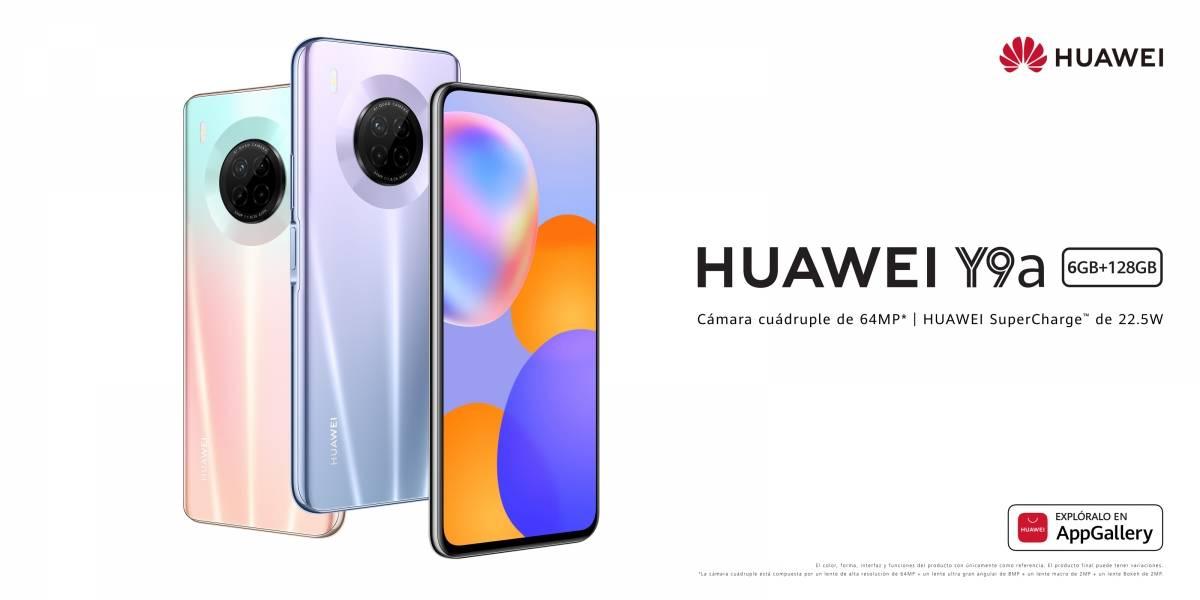 Huawei Y9a: Un nuevo smartphone con estilo, innovación y calidad