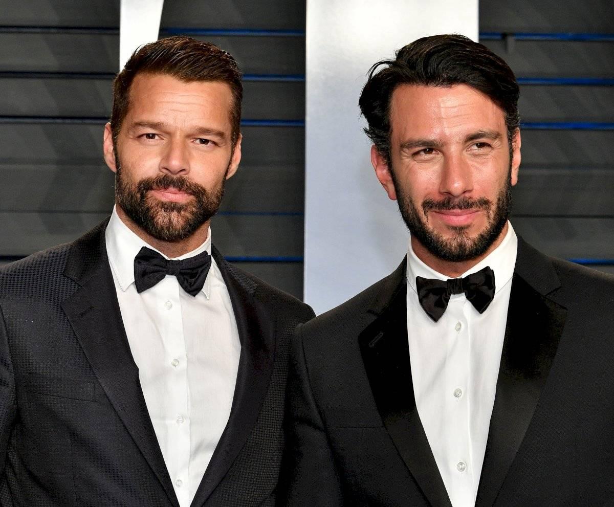 Ricky Martin junto a su esposo Jwan Josef