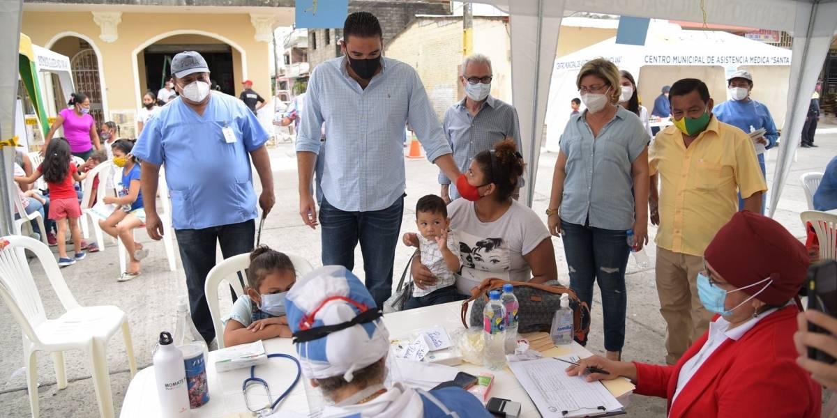 Juan José Yúnez presentó el Plan Sanos, Salud para los samborondeños