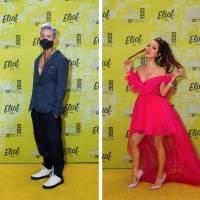Así se vivió la alfombra amarilla de los Eliot Awards 2020
