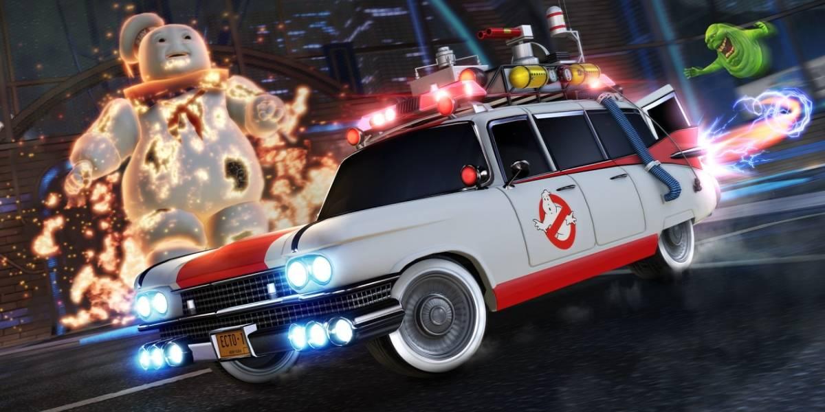 Rocket League: el Ecto-1 de los Cazafantasmas llega al juego en Halloween