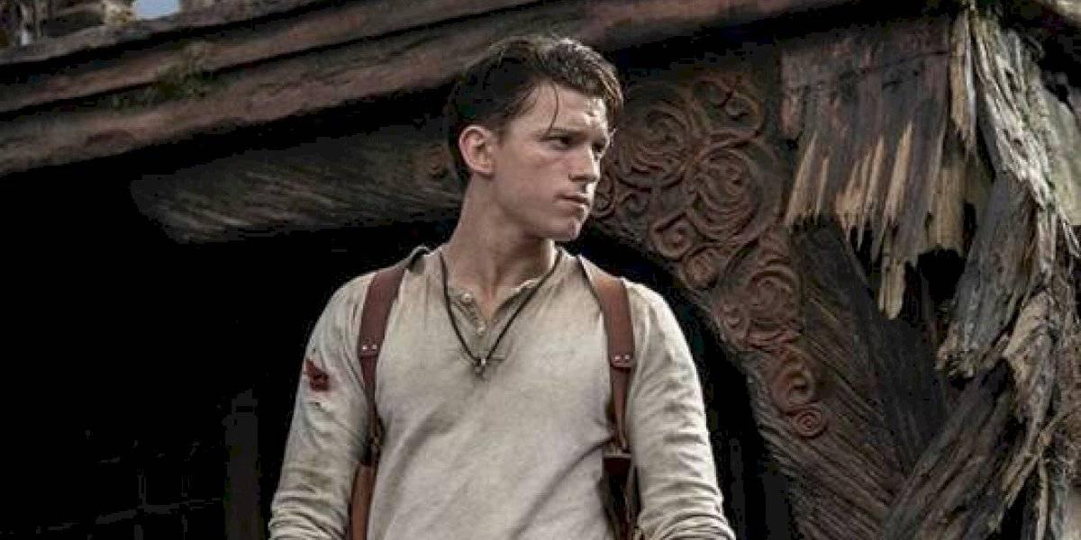 Tom Holland revela primera imagen como Nathan Drake en la película de Uncharted