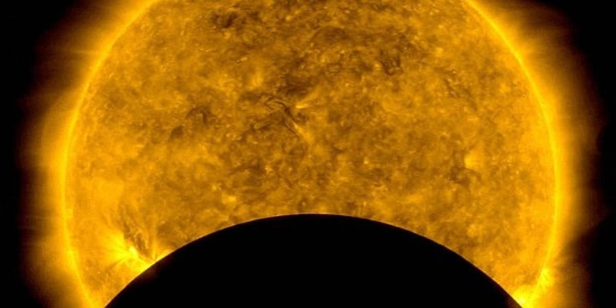 NASA: observatorio solar capturó un espectáculo lunar mientras observaba nuestra estrella masiva