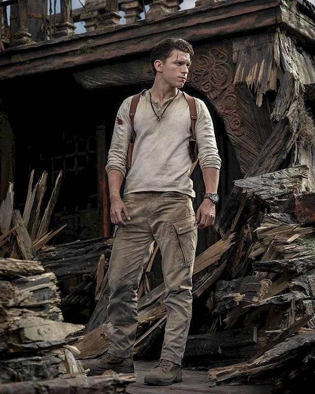 Uncharted muestra la primera foto de su película con Tom Holland como Nathan Drake