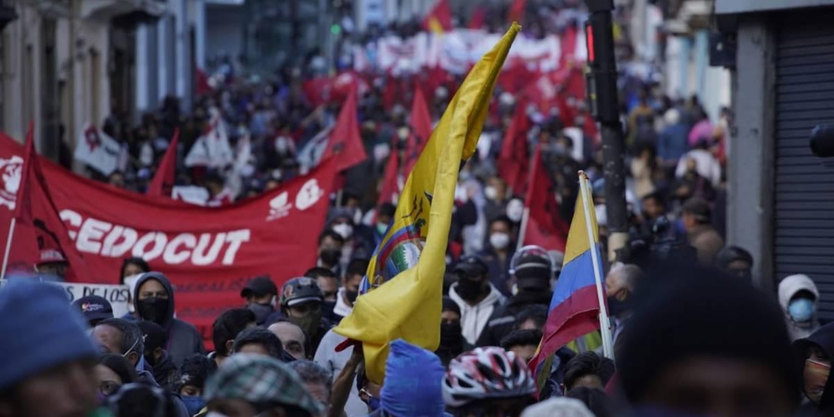 Romo dice que solo registraron incidentes aislados con la Policía en Quito