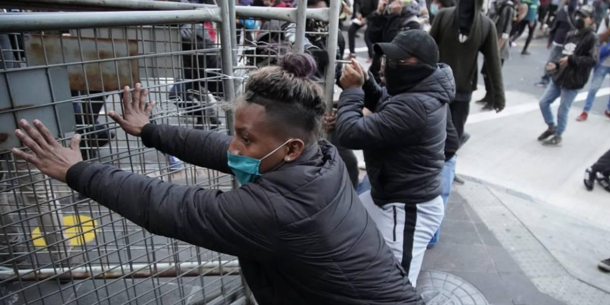 Detienen a seis personas por destruir patrimonio tras protesta en Quito