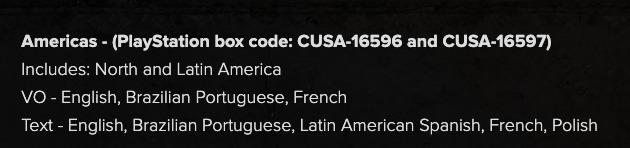 Cyberpunk 2077 idiomas