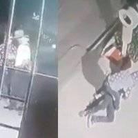 Cámara de seguridad registra asalto a un hombre de la tercera edad en Jalisco