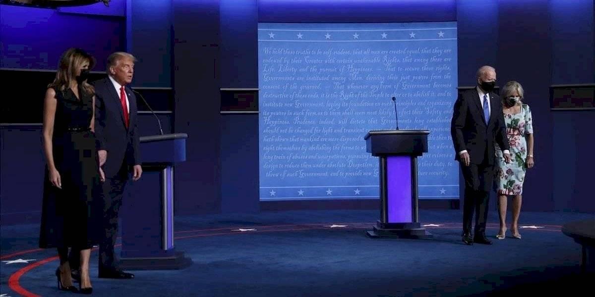 Los fabulosos looks de Jill Biden y Melania Trump en el último debate presidencial