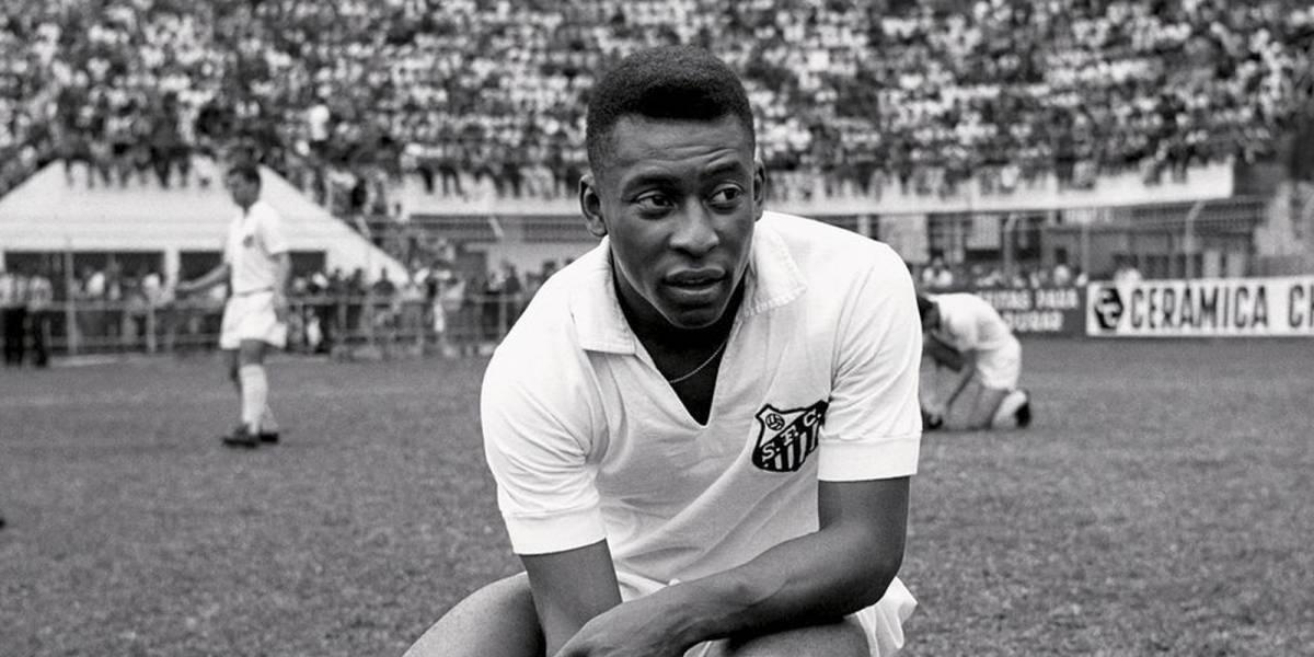 Pelé y el día que fue héroe como portero en el Santos de Brasil