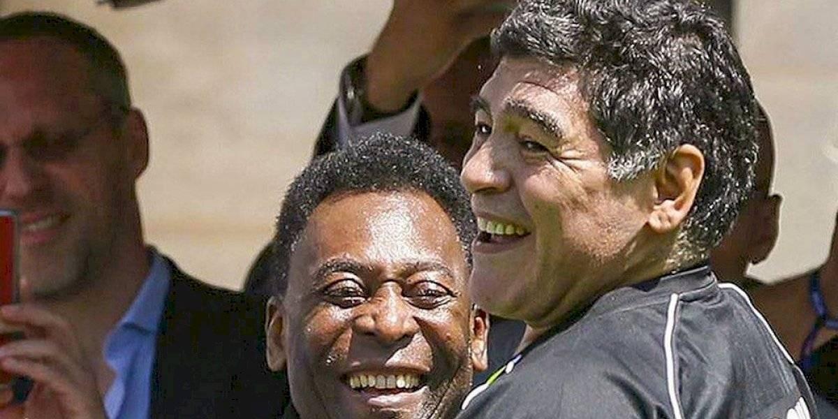 """Pelé se despide de Diego Armando Maradona: """"Un día, espero que podamos jugar juntos a la pelota en el cielo"""""""