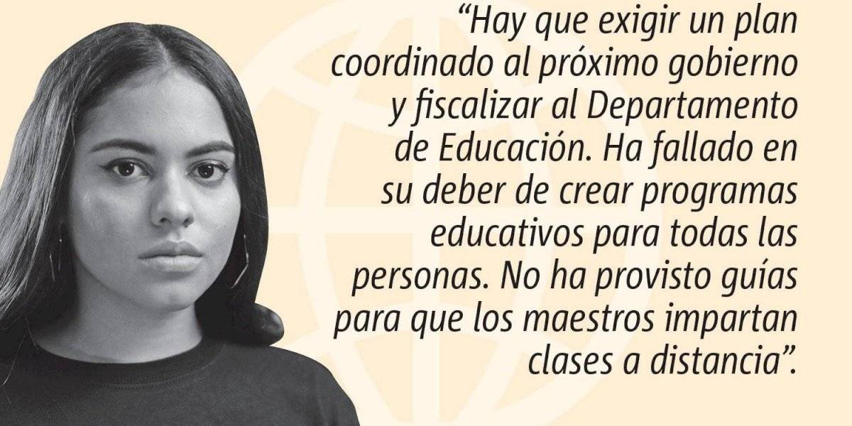 Opinión de Génesis Ramos: ¿Educación gratuita, accesible y de calidad?
