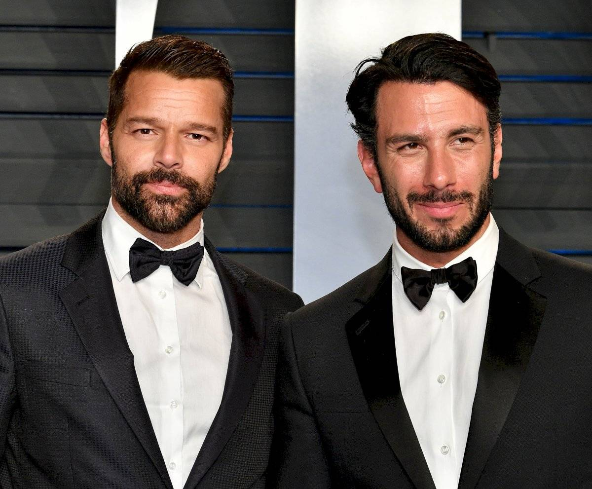 Ricky Martin junto a su hoy esposo Jwan Yosef