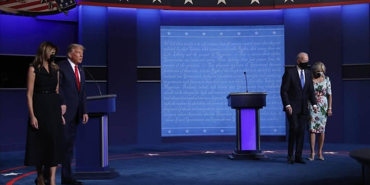 Trump o Biden, ¿quién ganó el segundo y último debate presidencial?