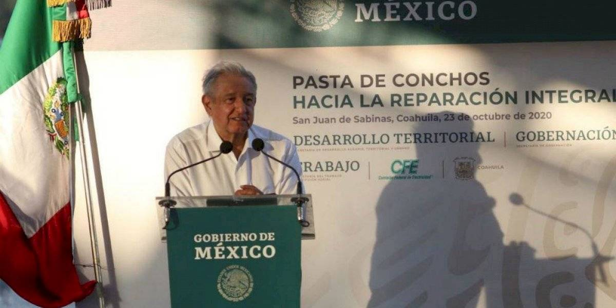 """""""Antes de 2024 se rescatarán restos de mineros en Pasta de Conchos"""", asegura AMLO"""