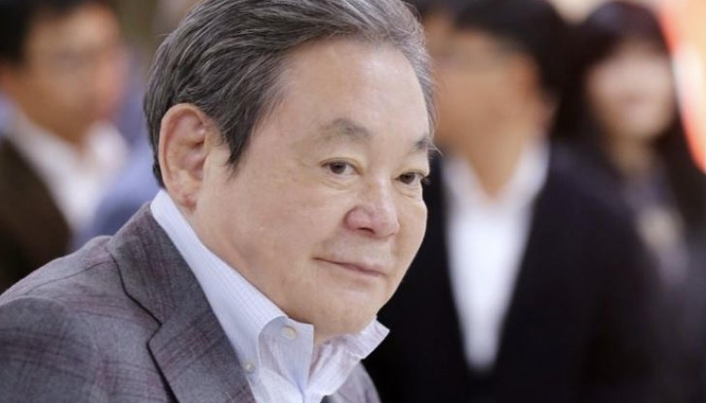 Lee Kub-hee, Presidente de Samsung, muere a los 78 años