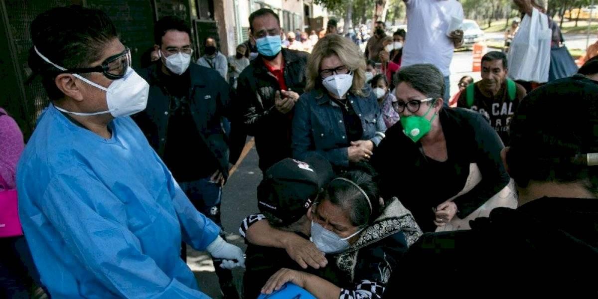 México registra 886,800 casos acumulados de Covid-19