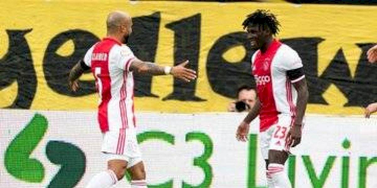 Ajax consigue histórica goleada de 13-0 sobre el Venlo — Edson Álvarez